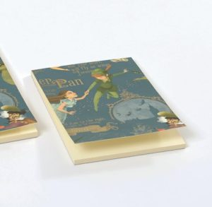 peter pan notepad A6 gallery shop