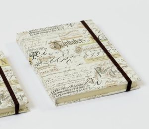 CALLIGRAPHY NOTEBOOK 12X17 KARTOS gallery shop