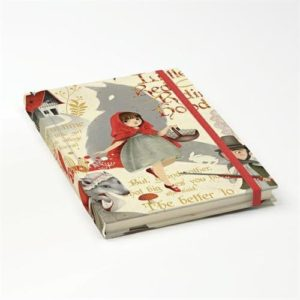 CAPPUCCETTO ROSSO NOTEBOOK 12X17 gallery shop